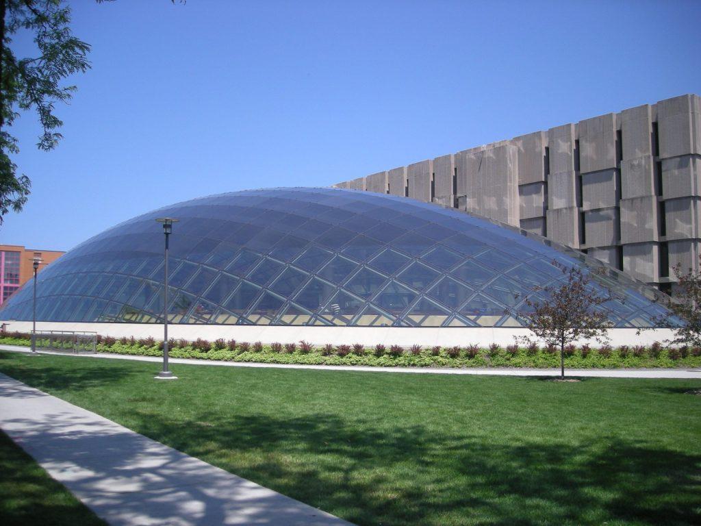 Joe and Rika Mansueto Library at the University of Chicago