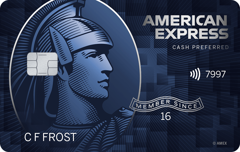 Blue Cash Preferred Card from American Express