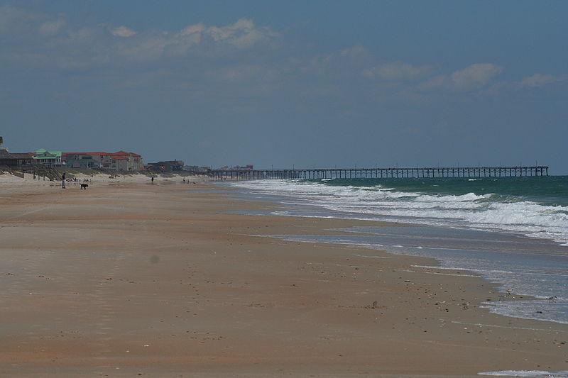 Topsail Island  Beaches in North Carolina