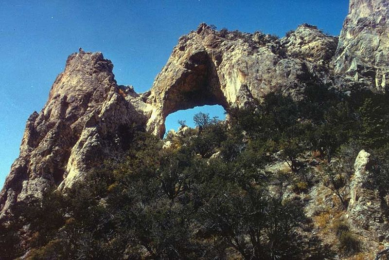 Lexington Arch, Nevada