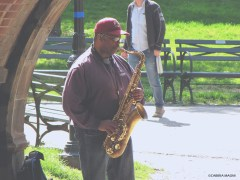 Music in Central Park, NY