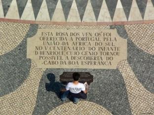 La rosa dei venti, Belem, Lisbona, Cabiria Magni