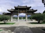 Interno del tempio di Confucio. Cabiria Magni
