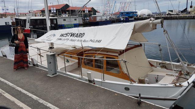 Hobart Things to See - Westward Yacht Sydney Hobart Race Winner 1947 & 1948