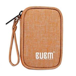 BUBM Travel Pouch for small electronics and earphones