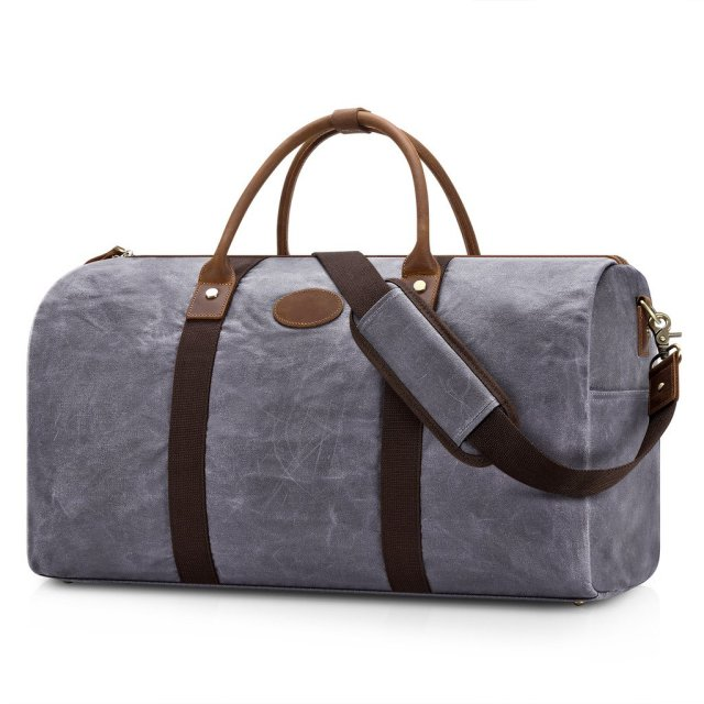 Plambag water-repellent canvas duffel travel bag