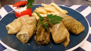 Hobart Things to Do - Order dolmades - (image borrowed from FILOS fb page)