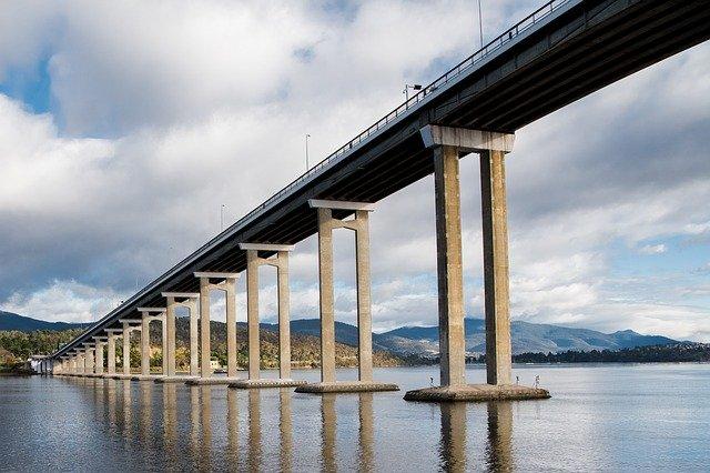 Tasman Bridge over the Derwent River