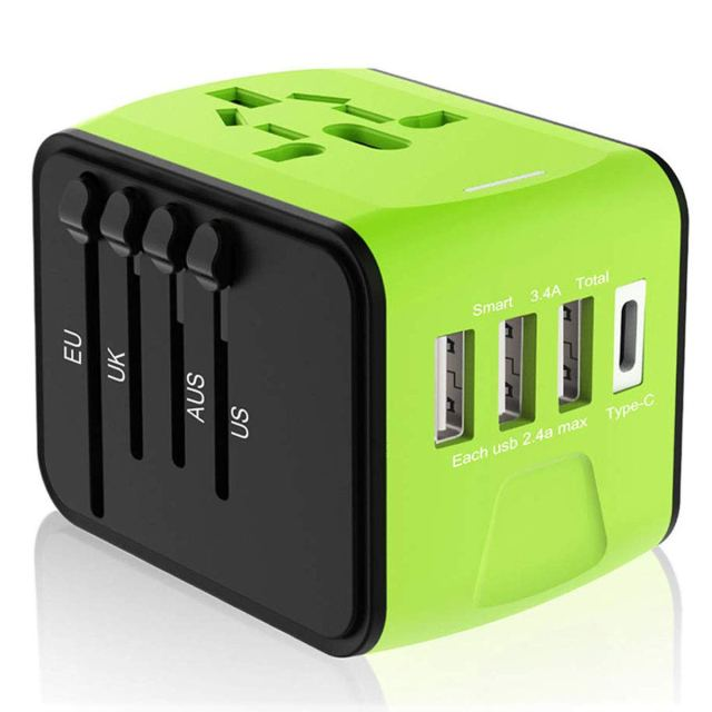 Mona Ferry Travel Review - Disgian Universal Travel Adapter