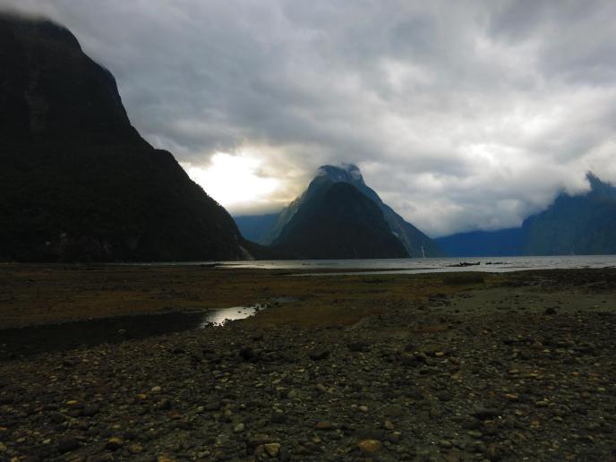 Angekommen im Milford Sound