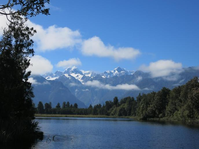 Reflexion Island am Lake Matheson