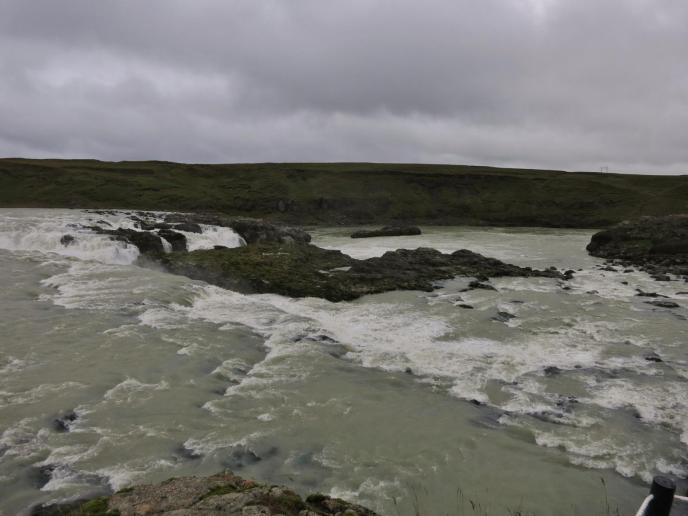 Wasserfall Urrigafoss - nahe dem Ort Hella