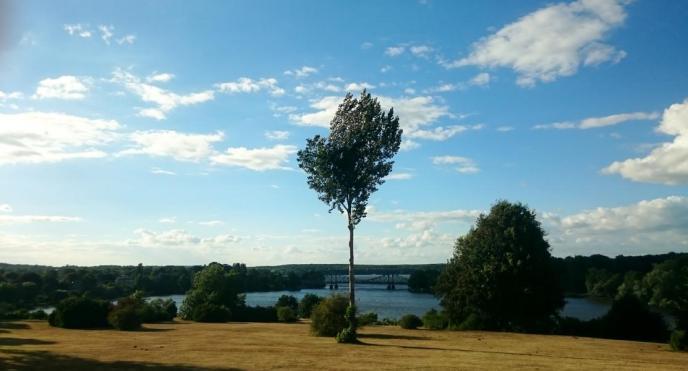 Blick Richtung Glienicker Brücke
