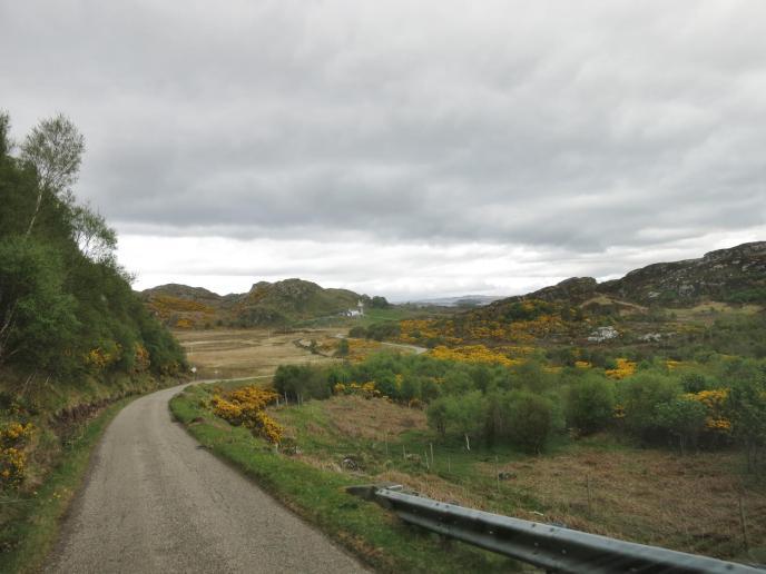 Streetfoto - irgendwo im Nirgendwo in den Highlands