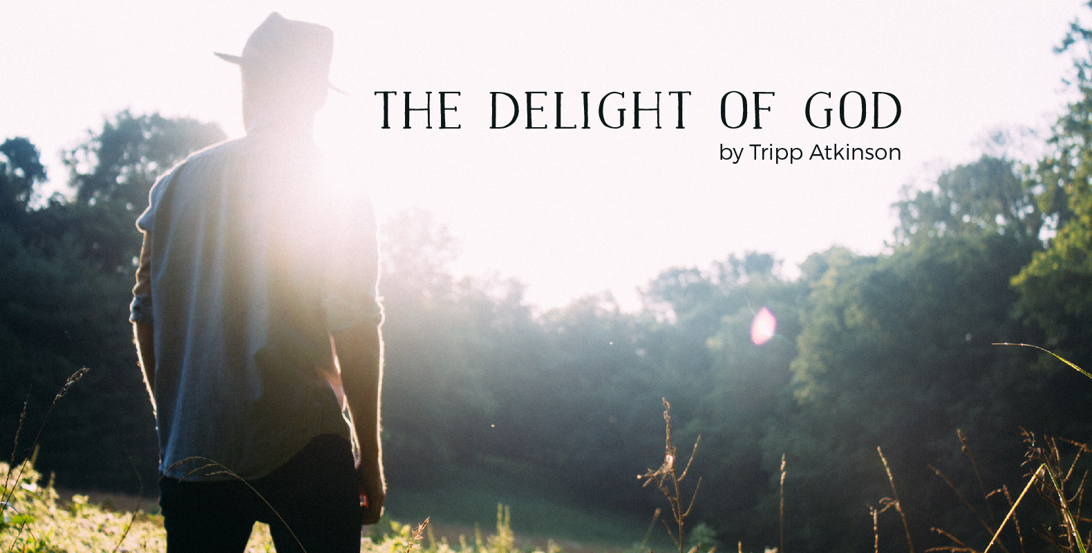 The Delight of God by Tripp Atkinson