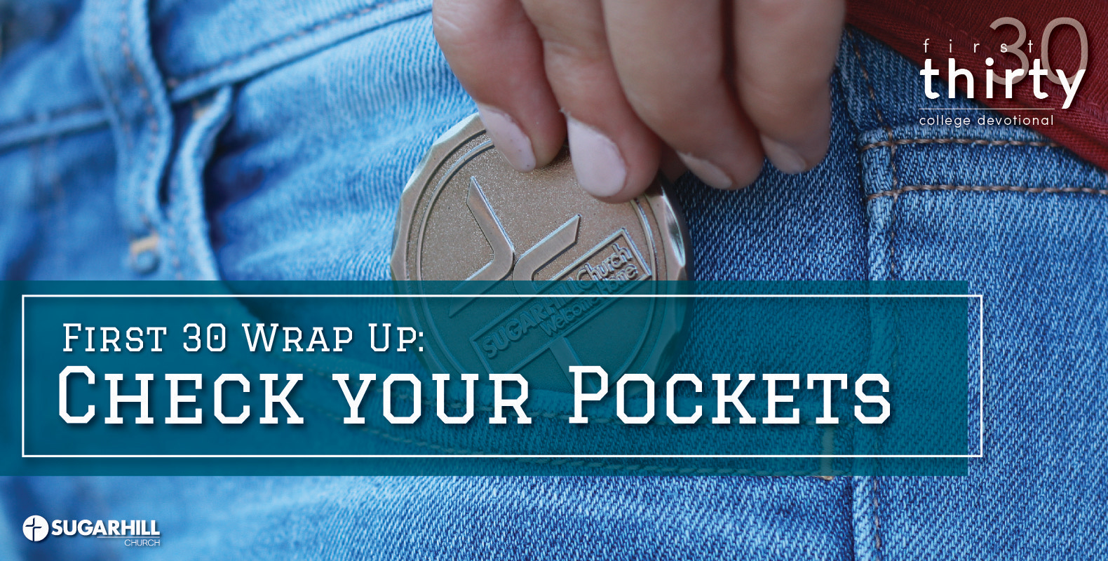 Tripp Atkinson First Thirty Blog Check Your Pockets Challenge Coin
