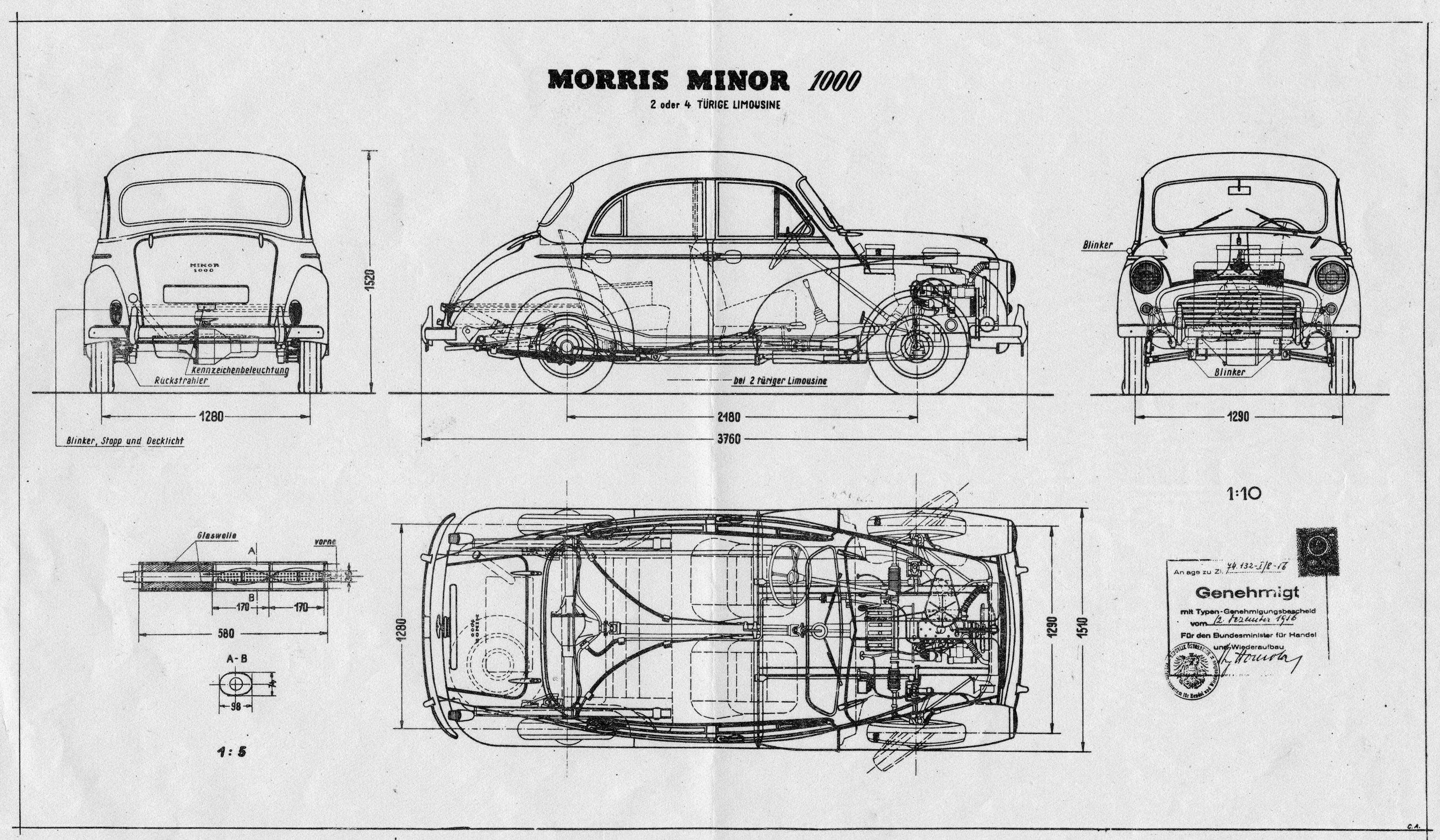 Morris Minor V8