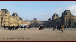 One last shot of the Louvre before we leave this fascinating city.