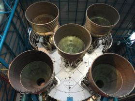 The Saturn V has some serious junk in its trunk.