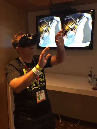 Getting all occulus.