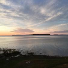 Morning sky, St. Ignace