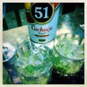 Brazilian Cocktail Caipirinha