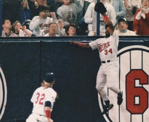 kirby puckett catch