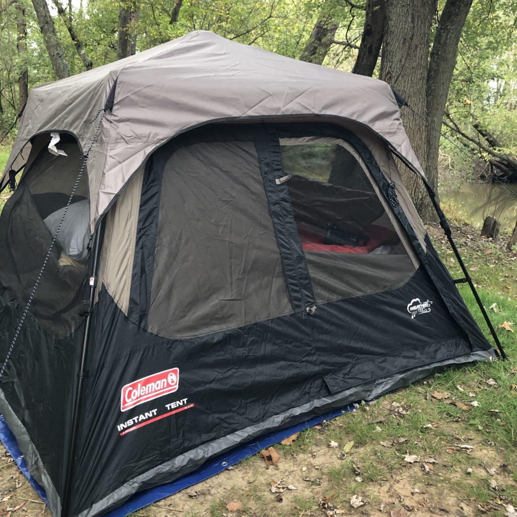 New Coleman Tent