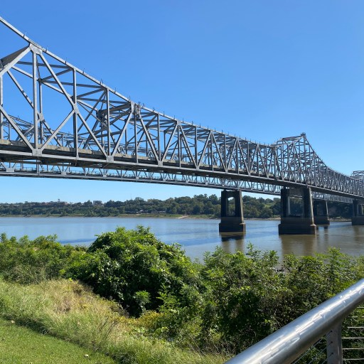 Mississippi River Bridge at Natchez