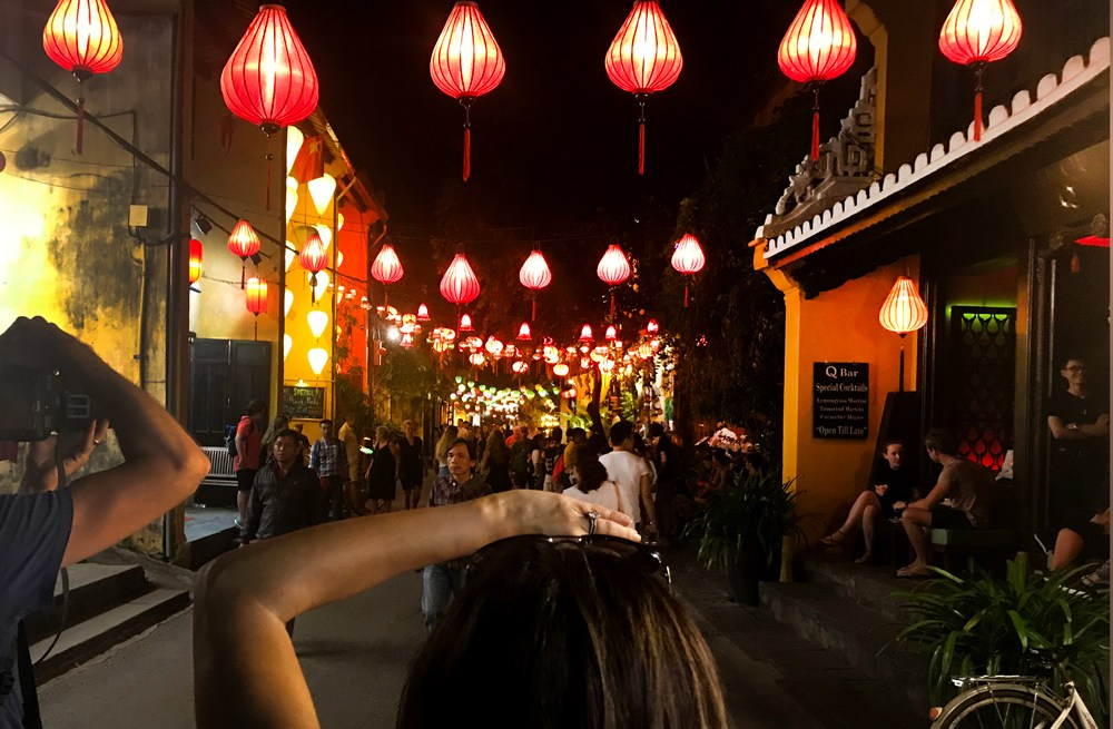 Stunning view of Hoi An's paper lanterns