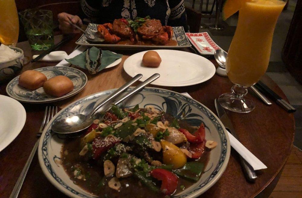 Food at the Rice Bowl