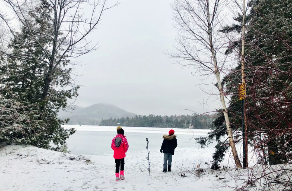 Skiing in Lake Placid
