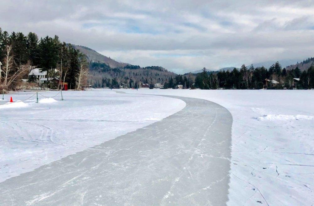 A frozen pathway