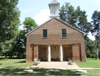 Mooresville Brick Church.