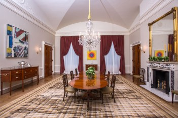 White House Old Family Dining Room