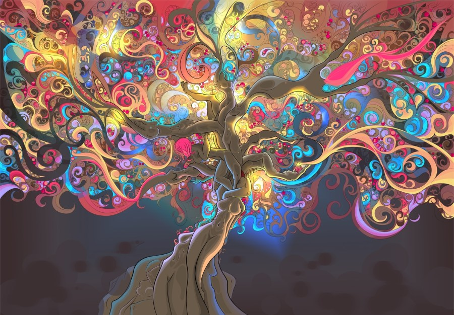 Psychedelic-Tree