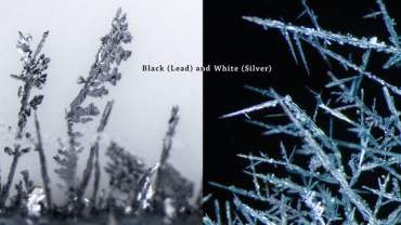 Black (Lead) and White (Silver)