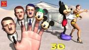 Hitler VS Mickey Mouse Finger Family