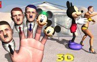 Hitler VS Mickey Mouse Finger Family