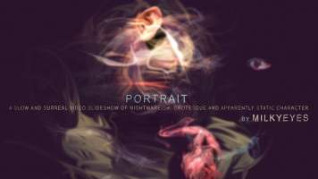 Trippy and Terrifying Animated Portraits