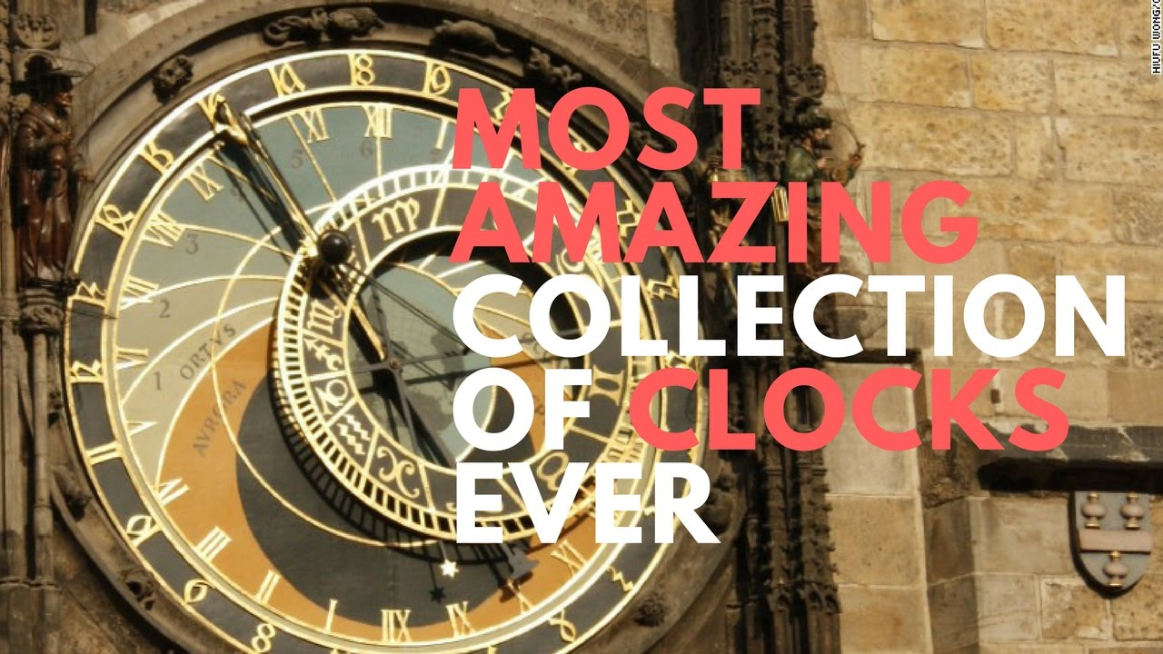 the most amazing collection of clocks ever at salar jung museum