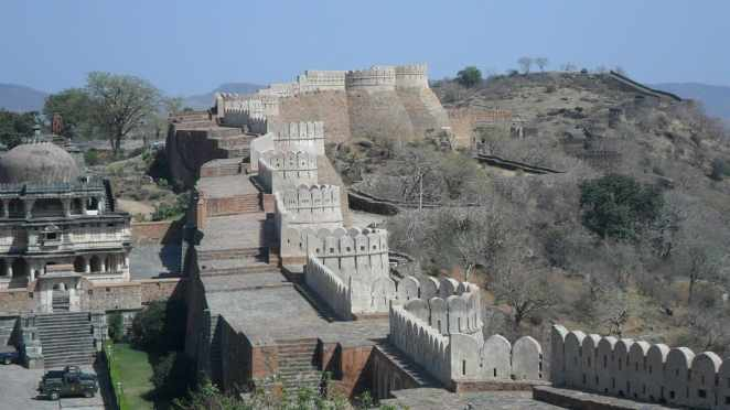Kumbhalgarh Fort Wall, India