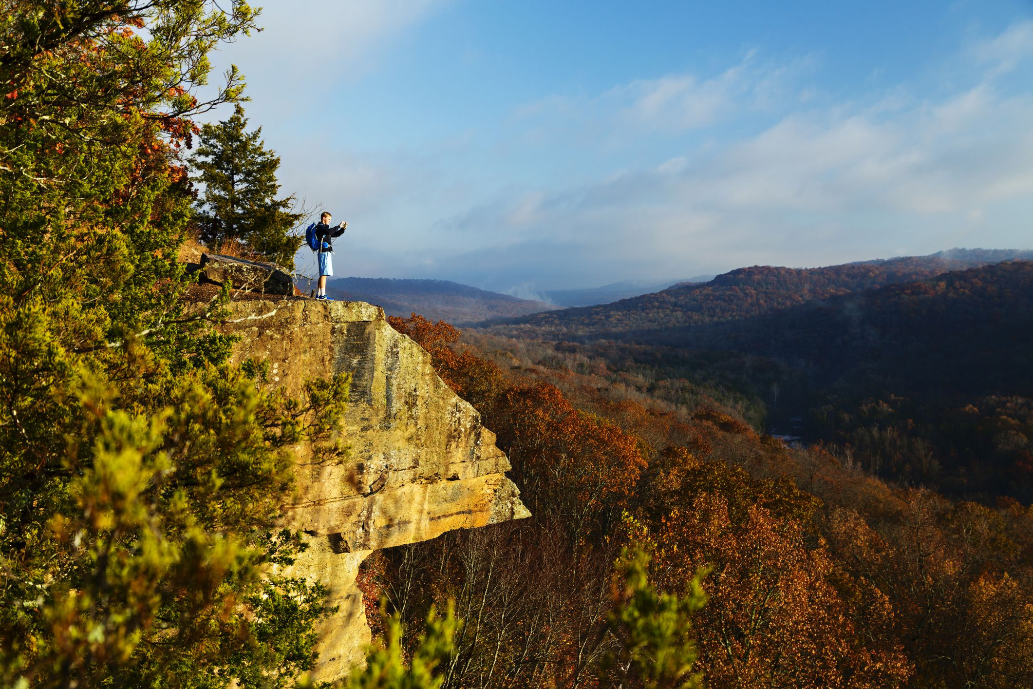 The Best Places To See Fall Foliage In Arkansas