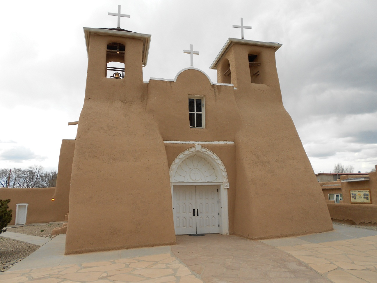 A Very Unique New Mexico Spanish Mission