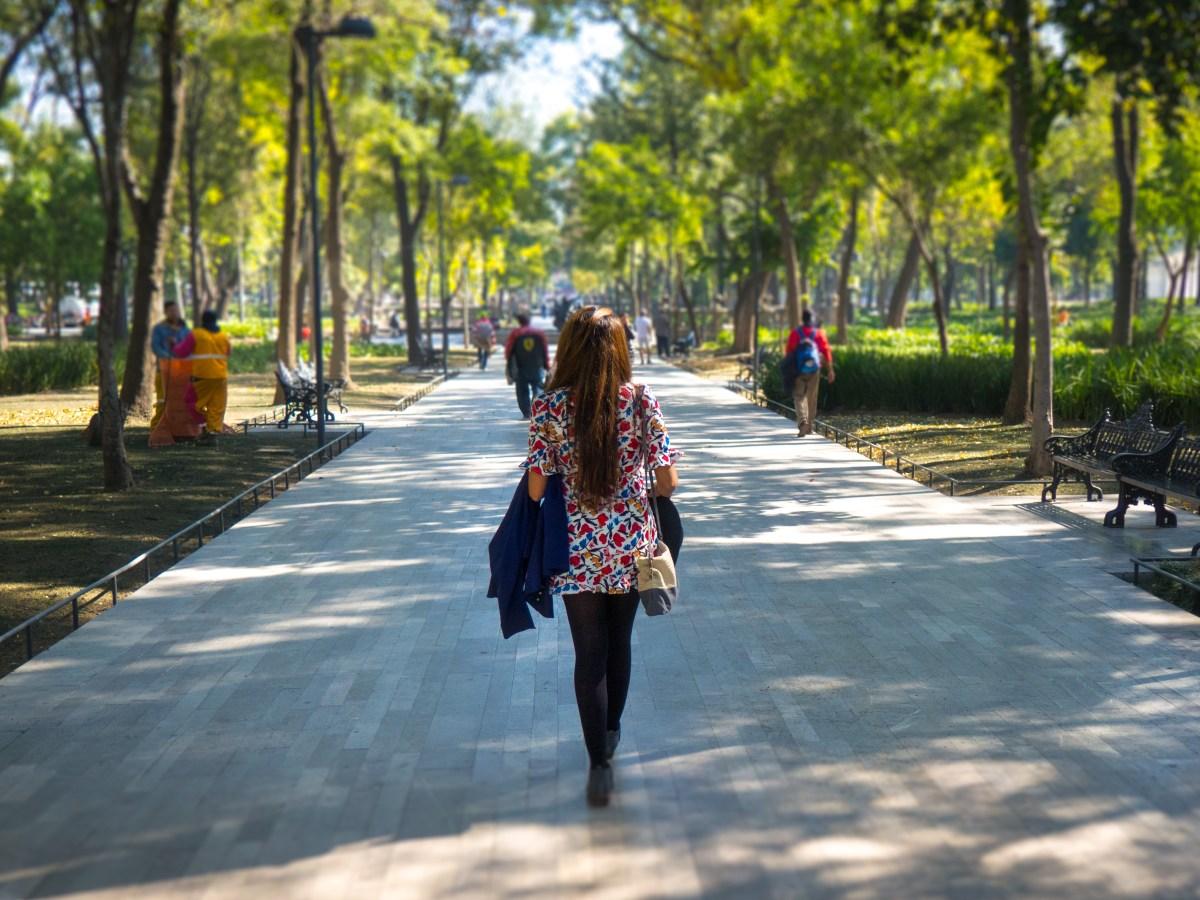 Alameda Park - Mexico city trip