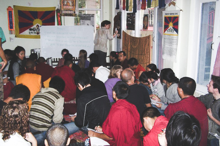 Monks English class - Solo Female Travel That Will Changes You