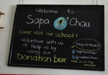 Sapa O'Chau sign