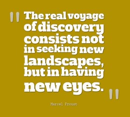Discovery quote by Marcel Proust