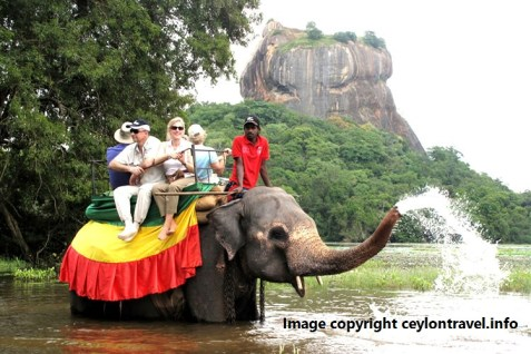 elephant rides in Sri Lanka