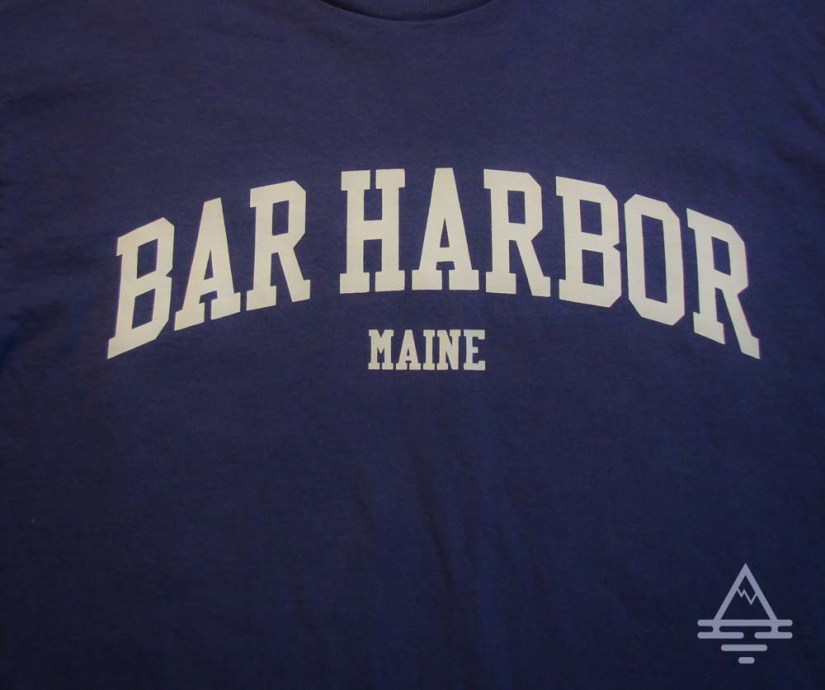 Bar Harbor, Maine Tee
